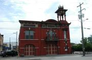 17 W 6TH AVE, a Italianate fire house, built in Oshkosh, Wisconsin in 1868.