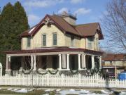 305 N WASHINGTON ST, a Queen Anne house, built in Watertown, Wisconsin in 1890.