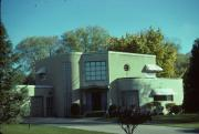 2537 EDGEWOOD PL, a Art Moderne house, built in La Crosse, Wisconsin in 1940.