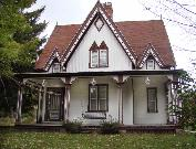 S4456 ELIZABETH ST ( EAST SIDE, 500 FEET WEST OF 16TH ST), a Gothic Revival house, built in Baraboo, Wisconsin in 1869.