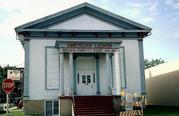 133 E FOND DU LAC ST, a Greek Revival church, built in Ripon, Wisconsin in 1857.