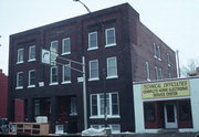 16-18 N BAY ST, a Commercial Vernacular hotel/motel, built in Chippewa Falls, Wisconsin in 1915.