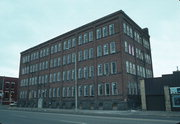 28 W RIVER ST, a Astylistic Utilitarian Building industrial building, built in Chippewa Falls, Wisconsin in 1910.