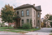 220 W PLEASANT ST, a Italianate house, built in Portage, Wisconsin in 1881.