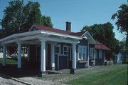 Fox Lake Railroad Depot, a Building.