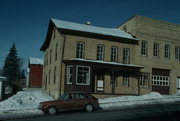 NW CNR OF N GERMAN ST AND E BRIDGE ST, a Commercial Vernacular industrial building, built in Mayville, Wisconsin in 1876.