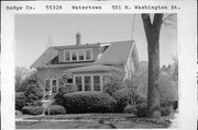 501 N WASHINGTON ST, a Bungalow house, built in Watertown, Wisconsin in 1925.