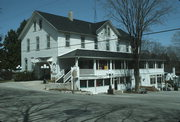 4192 MAIN ST, a Side Gabled hotel/motel, built in Gibraltar, Wisconsin in 1887.