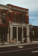 10 N 3RD AVE, a Neoclassical bank/financial institution, built in Sturgeon Bay, Wisconsin in 1906.