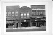 125 N 3RD AVE, a Mediterranean Revival retail building, built in Sturgeon Bay, Wisconsin in 1916.