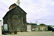 131 E MULLETT ST, a Astylistic Utilitarian Building grain elevator, built in Portage, Wisconsin in 1862.