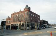 15-21 S BARSTOW ST, a Romanesque Revival retail building, built in Eau Claire, Wisconsin in 1893.