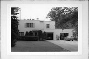 215 ROOSEVELT AVE, a Art Moderne house, built in Eau Claire, Wisconsin in 1936.