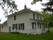 1972 STATE HIGHWAY 92, a Two Story Cube house, built in Springdale, Wisconsin in 1858.