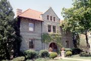 1057 ALGOMA BLVD, a Richardsonian Romanesque house, built in Oshkosh, Wisconsin in 1911.