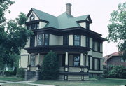 2121 7TH ST, a Queen Anne house, built in Monroe, Wisconsin in 1901.