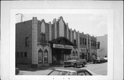 1708 11TH ST, a Art Deco theater, built in Monroe, Wisconsin in 1931.