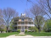 919 CHARLES ST, a Octagon house, built in Watertown, Wisconsin in 1854.