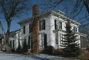 179 E HURON ST, a Italianate house, built in Berlin, Wisconsin in 1858.