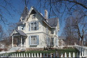 151 E PARK AVE, a Queen Anne house, built in Berlin, Wisconsin in 1882.