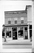 169-169A W HURON ST, a Commercial Vernacular retail building, built in Berlin, Wisconsin in 1890.