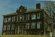 344 E MAIN ST, a German Renaissance Revival elementary, middle, jr.high, or high, built in Linden, Wisconsin in 1913.