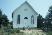 SEE ADDITIONAL COMMENTS, a Gothic Revival church, built in Ridgeway, Wisconsin in 1882.