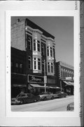 130 N IOWA ST, a Commercial Vernacular theater, built in Dodgeville, Wisconsin in 1900.