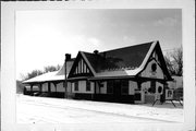 725 W MAIN ST, a Tudor Revival depot, built in Watertown, Wisconsin in 1903.