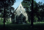 6501 3RD AVE, a Gothic Revival church, built in Kenosha, Wisconsin in 1875.