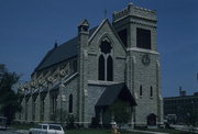 5900 7TH AVE, a Gothic Revival church, built in Kenosha, Wisconsin in 1872.
