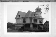 6019 7TH AVE, a Queen Anne house, built in Kenosha, Wisconsin in 1892.