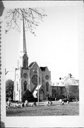5934 8TH AVE, a Gothic Revival church, built in Kenosha, Wisconsin in 1874.