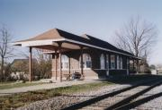 Green Bay and Western Railroad Depot, a Building.