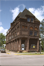 1 E BAYFIELD ST, a Richardsonian Romanesque bank/financial institution, built in Washburn, Wisconsin in 1890.