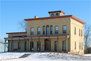 970 S MONROE ST, a Italianate house, built in New Lisbon, Wisconsin in 1869.