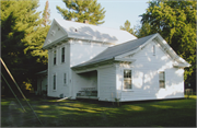 4708 STETTIN DR, a Greek Revival house, built in Stettin, Wisconsin in 1849.