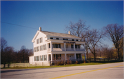 STATE HIGHWAY 23 & COUNTY HIGHWAY T, a Greek Revival hotel/motel, built in Greenbush, Wisconsin in 1849.