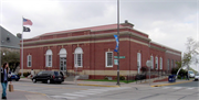 235 MAIN ST E, a Neoclassical post office, built in Menomonie, Wisconsin in 1913.
