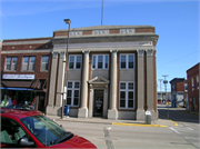 44-50 E MAIN ST, a Neoclassical bank/financial institution, built in Platteville, Wisconsin in 1924.
