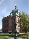 126 W MAPLE ST, a Neoclassical courthouse, built in Lancaster, Wisconsin in 1902.