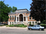 126 W MAIN ST, a Neoclassical library, built in Sparta, Wisconsin in 1902.