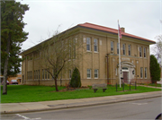 200 W MAIN ST, a Neoclassical meeting hall, built in Sparta, Wisconsin in 1923.