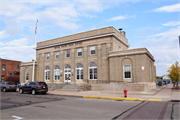 501 CLERMONT AVE, a Neoclassical post office, built in Antigo, Wisconsin in 1916.