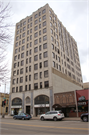 103 W COLLEGE AVE, a Neogothic Revival large office building, built in Appleton, Wisconsin in 1932.