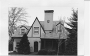 2541 EDGEWOOD PLACE, a Tudor Revival house, built in La Crosse, Wisconsin in 1937.