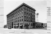 1408 STRONGS AVE, a Neoclassical hotel/motel, built in Stevens Point, Wisconsin in 1922.