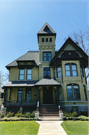 527 E WISCONSIN ST, a Queen Anne house, built in Neenah, Wisconsin in 1881.