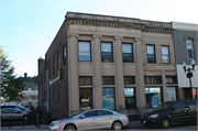 630 S BROADWAY, a Neoclassical retail building, built in Menomonie, Wisconsin in 1907.