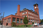 802 S BROADWAY, a Richardsonian Romanesque university or college building, built in Menomonie, Wisconsin in 1897.